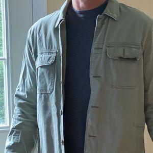 Military style Abercrombie shirt jacket